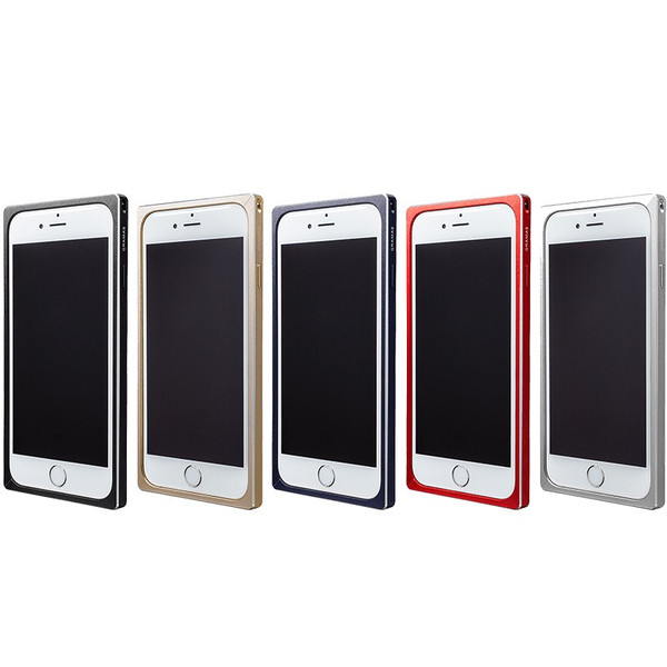 【公式】 GRAMAS グラマス iPhone6sPlus / iPhone6Plus ケースバンパー Straight Metal Bumper 送料無料