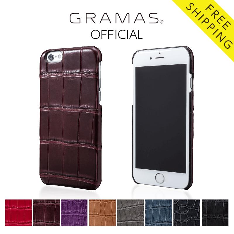 【公式】 GRAMAS グラマス iPhone6s / iPhone6 ケース ハードケース Meister Crocodile Case 送料無料