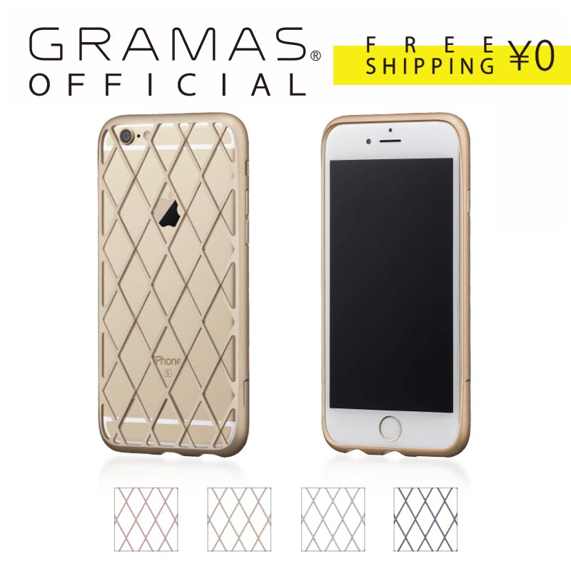 【公式】 GRAMAS グラマス iPhone6s / iPhone6 ケース バンパー Ultra Duralumin case Diamo 送料無料