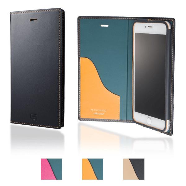 【公式】 GRAMAS グラマス iPhone8 Plus / iPhone7 Plus ケース 手帳型 手帳 Full Leather Case Limited 送料無料