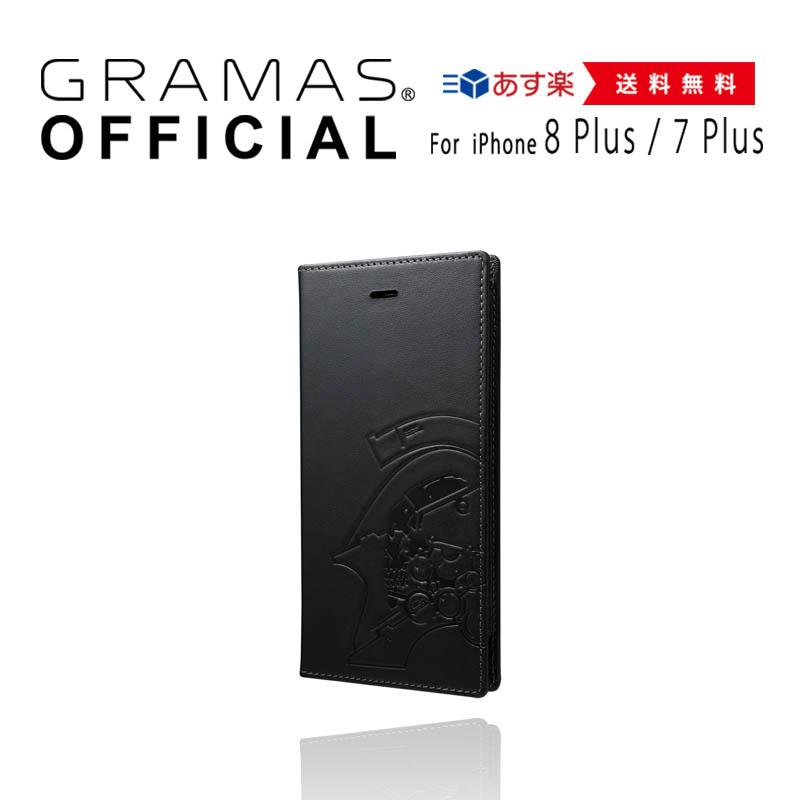 【公式】 GRAMAS グラマス x KOJIMA PRODUCTIONS ケース 本革 レザー Full Leather Case for iPhone 8 Plus/7 Plus/6s Plus/6 Plus 【 送料無料 】高級 ビジネス ギフト プレゼント