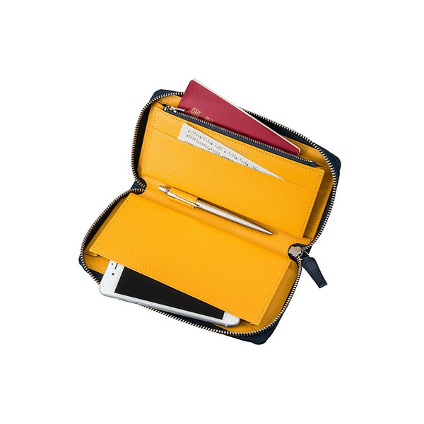 【公式】 GRAMAS グラマス 本革 財布 SingleZip Organizer Wallet 【 送料無料 】高級 ビジネス ギフト プレゼント