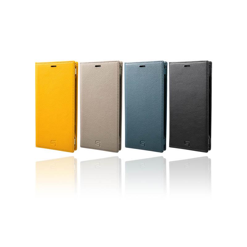 【公式】 GRAMAS グラマス ケース 手帳型 本革 レザー 手帳 カバー スマホケース Galaxy Note9 Italian Genuine Leather Book Case 【 送料無料 】高級 ビジネス ギフト プレゼント