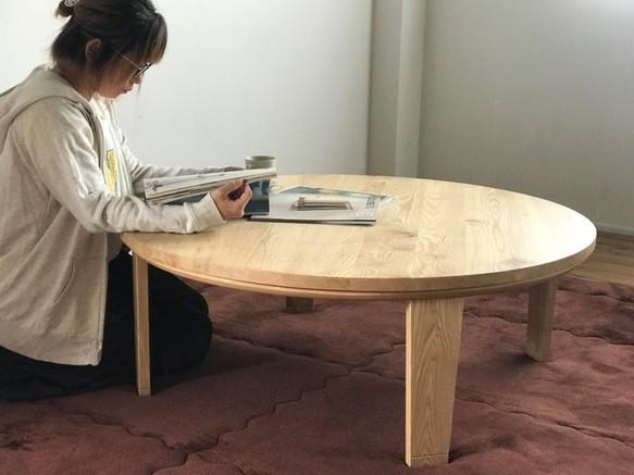 【栗の木】丸のこたつ [こたつ単体 / 掛け布団無し]テーブル直径 900mm[SHOP OF THE WEEK受賞/出店11周年]