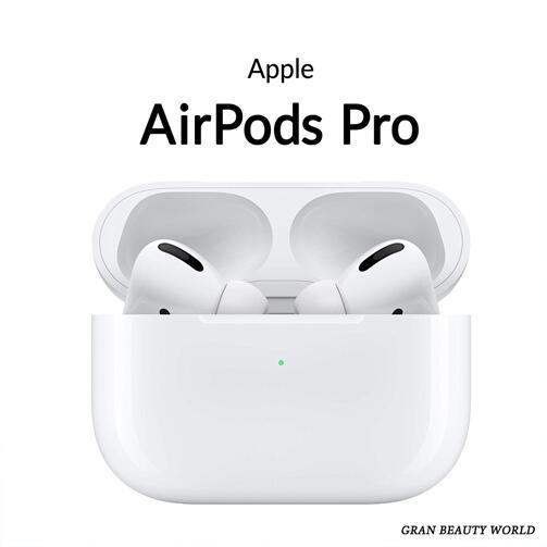 【キャッシュレス5%還元対象】APPLE AirPods Pro ノイズキャンセリング付完全ワイヤレスイヤホン MWP22J/A エアーポッズ