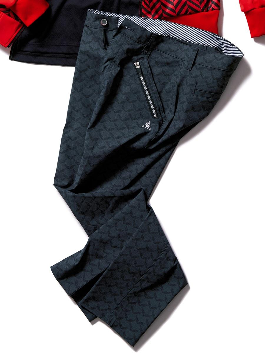 【大きいサイズ・メンズ】le coq sportif GOLF (ルコックスポルティフ ゴルフ)モーションストレッチコンドルプリント