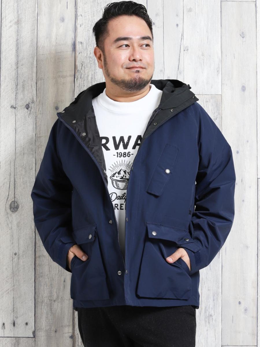 【大きいサイズ・メンズ】シエラデザインズ/SIERRA DESIGNS 60/40クロス マウンテンフードジャケット