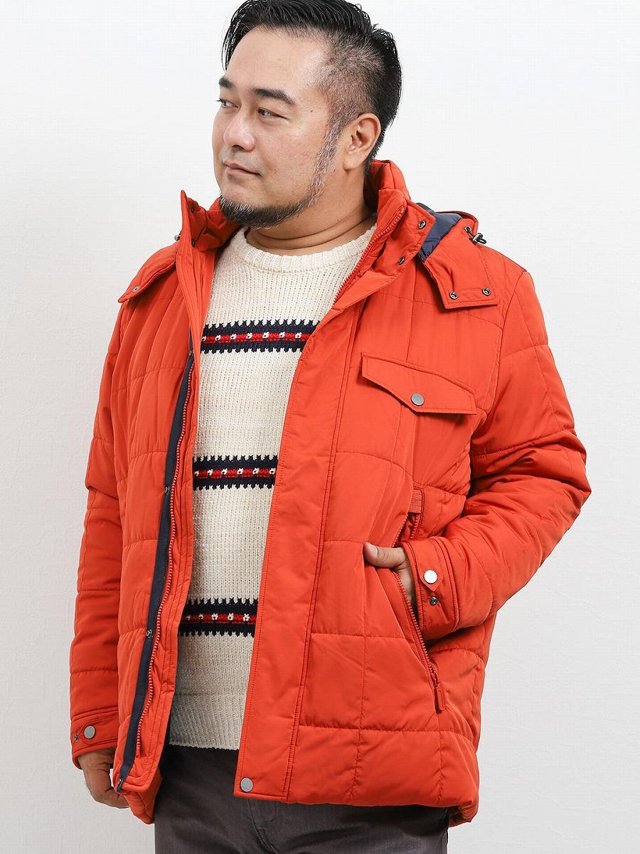 【大きいサイズ】M.A.G MIERU AVANT-GARDE CLASSIC MODEL 撥水メモリー機能中綿ブルゾン オレンジ カーキ 紺 グランバック 大きいサイズ