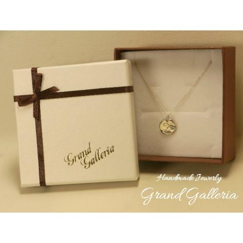 Grand Galleria グランドガレリアアルファベット イニシャルZネックレス ペンダント 誕生石 天然石EDW2IH9
