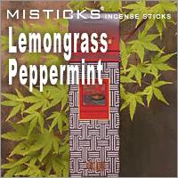 クロネコDM便152円 MISTICKS ミスティックス Lemongrass お香 レモングラスペパーミント 高品質 公式通販 Peppermint スティックインセンス