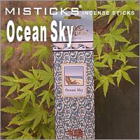 売買 クロネコDM便152円 MISTICKS ミスティックス Ocean お香 Sky スティックインセンス 在庫一掃 オーシャンスカイ