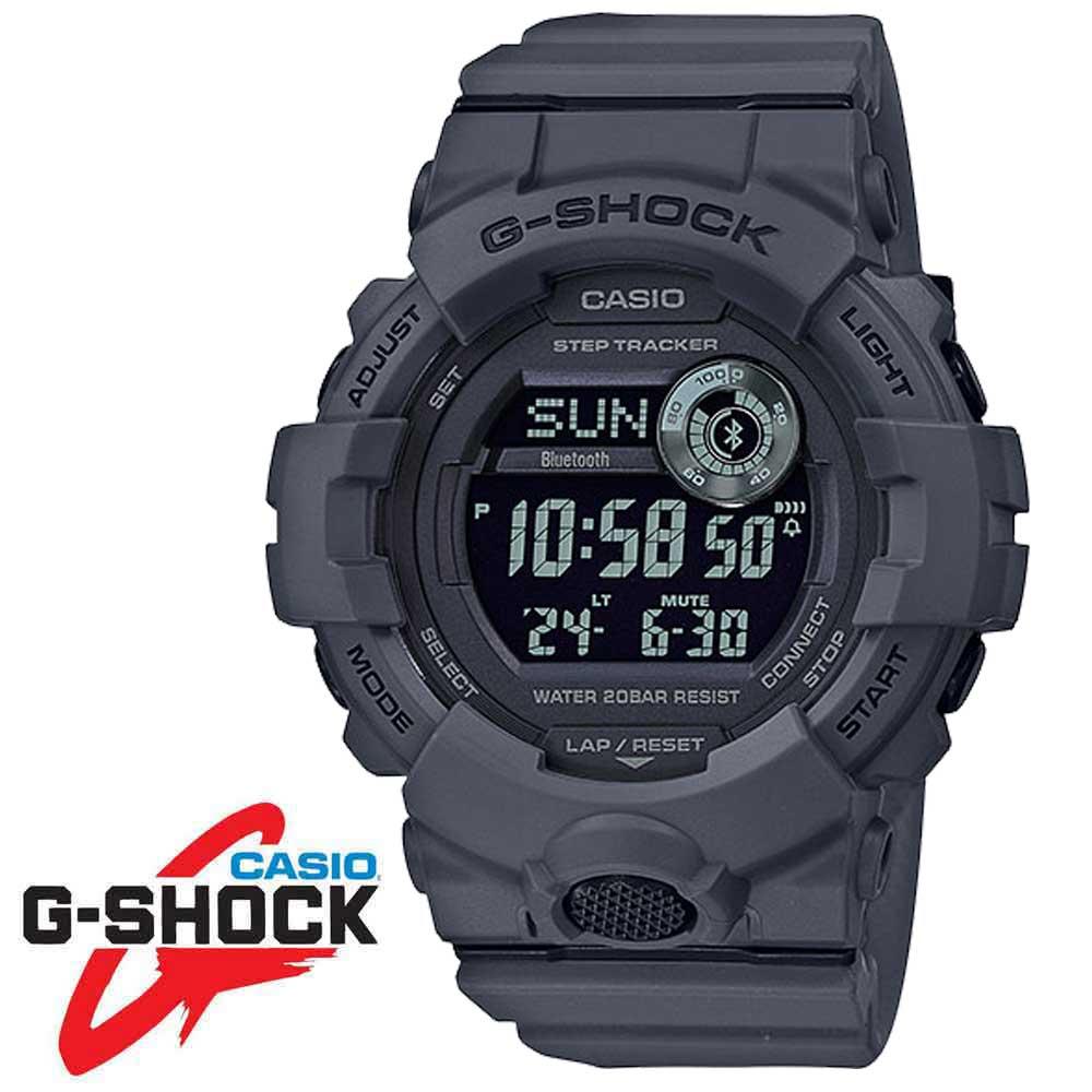 CASIO カシオ G-SHOCK Gショック G-SQUAD ジースクワッド GBD-800UC-8 メンズ腕時計 グレー Bluetooth スマホ連動 メンズウォッチ 並行輸入品