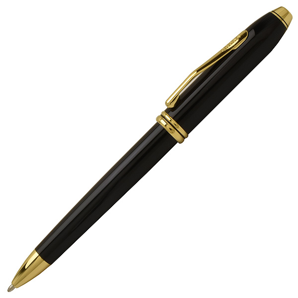 [送料無料] クロス [CROSS] タウンゼント TOWNSEND ボールペン 572TW ブラック/ゴールド [ギフト][プレゼント]