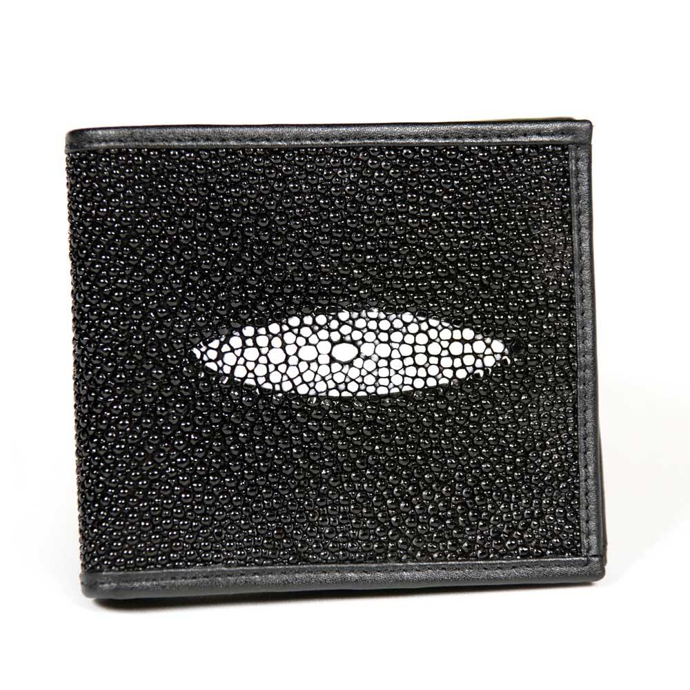 ロダニア RODANIA スティングレイ 折財布 SH0214BK ブラック メンズ財布 レディース財布 スティングレー エイ革 折り財布