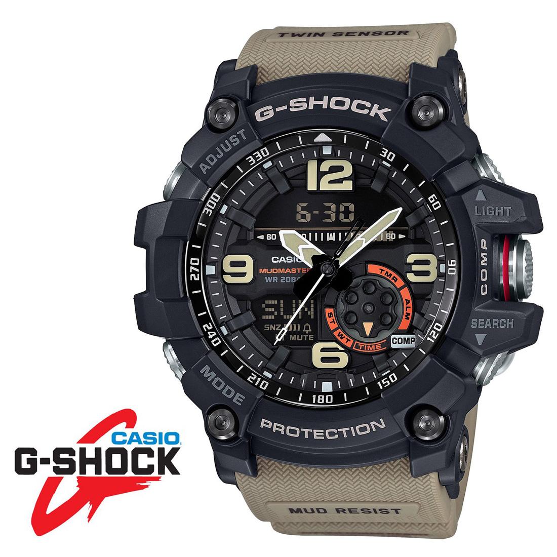 送料込! CASIO [カシオ] G-SHOCK Gショック マッドマスター GG-1000-1A5 カーキ ラバーベルト [メンズ腕時計][メンズウォッチ][並行輸入品]