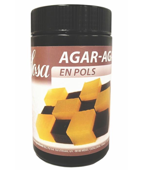 SOSA社テクスチャーシリーズゲル化剤(耐熱クラッシュゼリー)アガーアガーAGAR 500g【51018】スペイン