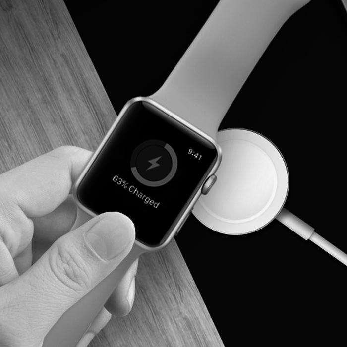 Apple Watch ワイヤレス充電器 Series1 Series2 Series3 Series4 アルミ 38mm 40mm 42mm Apple watch用 高級 小型 軽量 アップルウォッチ充電器 おしゃれ 海外
