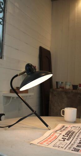 アルル デスクランプ ホワイト ブラック Arles desk lamp ディクラッセ DI CLASSE デザイン 照明器具【送料無料】