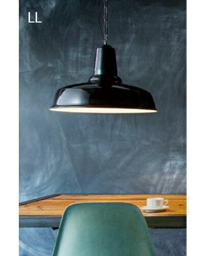 ARTWORKSTUDIO クラシックエナメルペンダントV LL ブラック バター グリーン Classic enamel-pendant LL ペンダント ライト 天井照明【送料無料】
