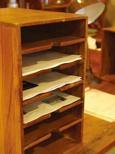 【アクシス/Homestead】ホームステッド アンティーク風 A4書類箱 収納 おしゃれ リビング 書類箱 小物整理 木箱 収納 ボックス BOX ウッドボックス おしゃれ かわいい インテリア雑貨 リビング キッチン 寝室 A4 収納ケース 書類ケース【送料無料】