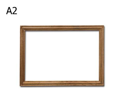 アンティーク風 EWIG ウッデンフレーム A2 木製 フレーム 壁掛けフレーム【送料無料】