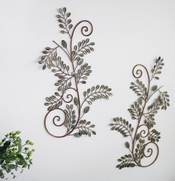 パティナアイアン オアシスシンメトリー 2個セット ウォールデコ 壁飾り 壁掛け ウォールデコレーション アイアン アンティーク調 おしゃれ 雑貨 ウォール アート オブジェ インテリア ウォールディスプレイ CNGF1049