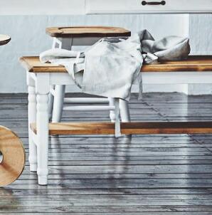 Midi ミディ ベンチ おしゃれ 背もたれなし ロング 木製 アンティーク風 スツール 椅子 イス いす【送料無料】