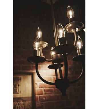 アーツライト 6バルブ アンティークブラウン アンティークゴールド RTS LIGHT 6BULB 6灯 おしゃれ シンプル ライト 天井照明 アンティーク【送料無料】