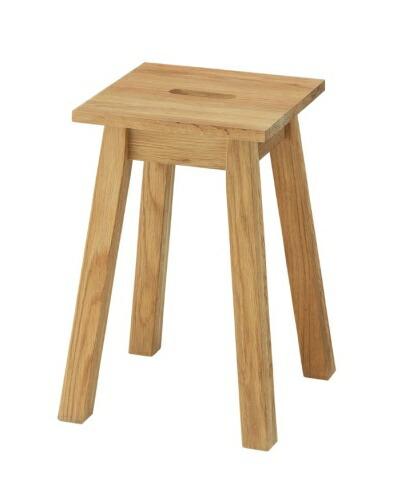 Hafen ハーフェン 角スツール おしゃれ 背もたれなし 木製 スツール 椅子 イス いす【送料無料】