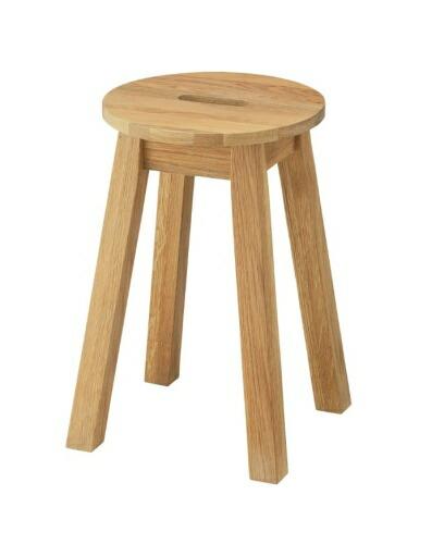 Hafen ハーフェン 丸スツール おしゃれ 背もたれなし 木製 スツール 椅子 イス いす【送料無料】