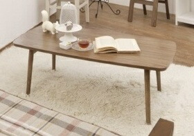 木製【送料無料】 トムテ センターテーブル テーブル フォールディングテーブル おしゃれ 折りたたみOK Tomte ローテーブル