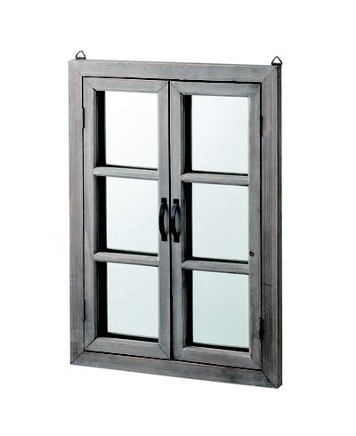 ウォールミラー おしゃれ シンプル ウィンドウミラー 窓型 ミラー 壁掛け 鏡 かがみ カガミ アンティークミラー アンティーク アンティークデザイン 壁掛けミラー 壁掛け 家具 雑貨 アンティーク家具 おしゃれ 玄関 インテリア【送料無料】