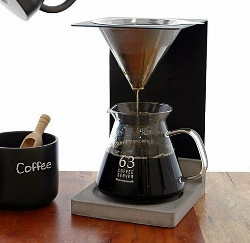 ロクサン ステンレスフィルター付スタンドセット 63 コーヒー カラフェ おしゃれ インテリア【送料無料】