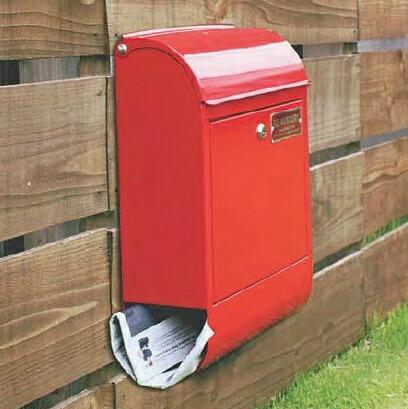 マーキュリーポスト/郵便受け【mercury】 Mail Box メールボックス C062 Mail Box ポスト 郵便受け メールボックス 【送料無料】