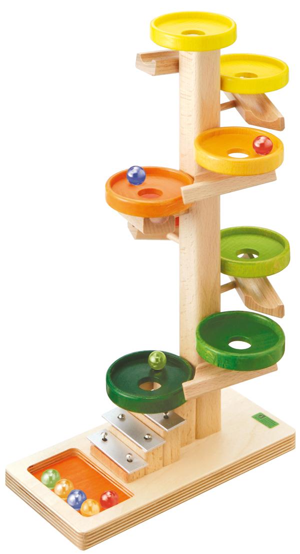 トレイクーゲルタワー・レインボー BECK (ベック社) スロープトイ スロープおもちゃ ピタゴラスイッチ 0歳 1歳 2歳 3歳 クネクネ【10P07Nov15】