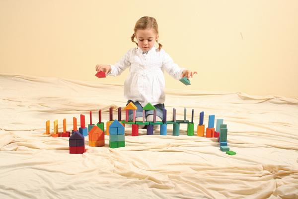 グリムス GRIMM'S GM色と形つみき(5種) 積木 知育玩具 誕生日 2歳 3歳 4歳【10P07Nov15】