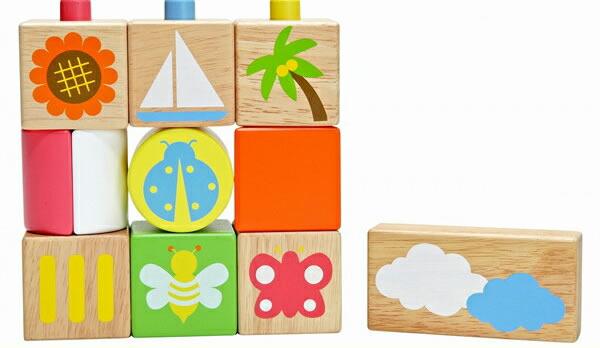 最大2000円オフクーポン発行中!POP UPブロックス Edute baby&kids (エデュテ ベビー アンド キッズ)積木 つみき ポップアップブロックス