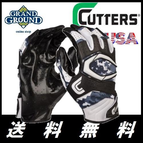 【海外限定】【送料無料】カッターズ レブ プロ レシーバー グローブ 2.0 両手 Cutters Rev Pro 2.0 Receiver Gloves Men