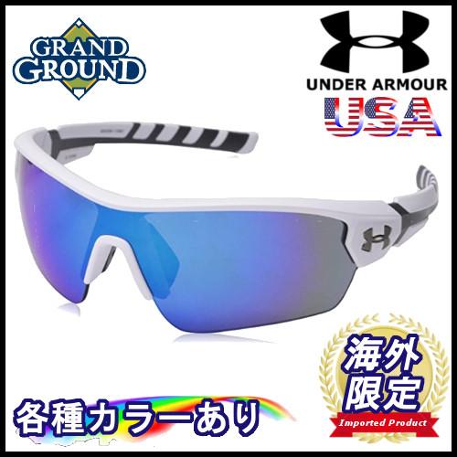 【海外限定】【送料無料】アンダーアーマー ライバル ラップ マルチフレクションレンズ メンズ スポーツサングラス UV 紫外線カット 野球 軽量 Under Armour Ua Rival Wrap Sunglasses
