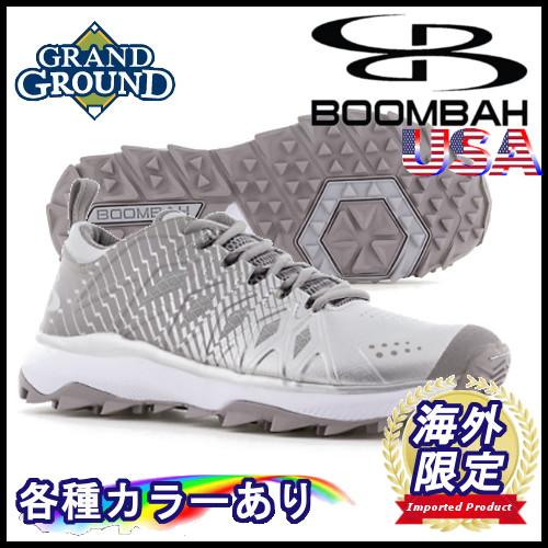【海外限定】【送料無料】ブーンバー スクアドロン ローカット 野球 トレーニングシューズ トレシュー アップシューズ Boombah Men's Squadron Low Turf Shoes グランドシューズ
