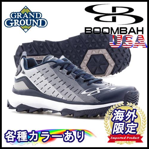 【海外限定】【送料無料】ブーンバー カタリスト ローカット 野球 トレーニングシューズ アップシューズ トレシュー Boombah Men's Catalyst Mid Turf Shoes グランドシューズ