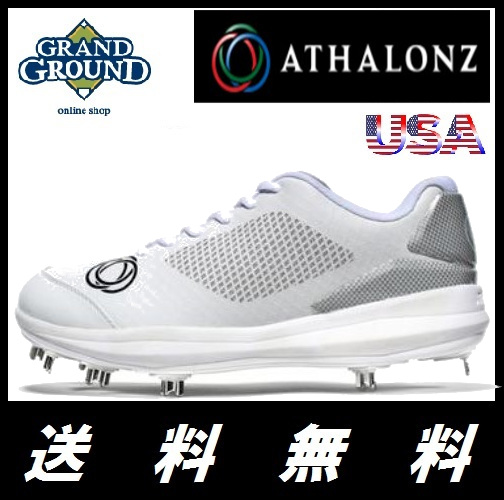 【海外限定】【送料無料】アサロンズ ジーフォース ローカット 野球 金属ポイント スパイク 金具 G-Force Baseball Metal Cleats