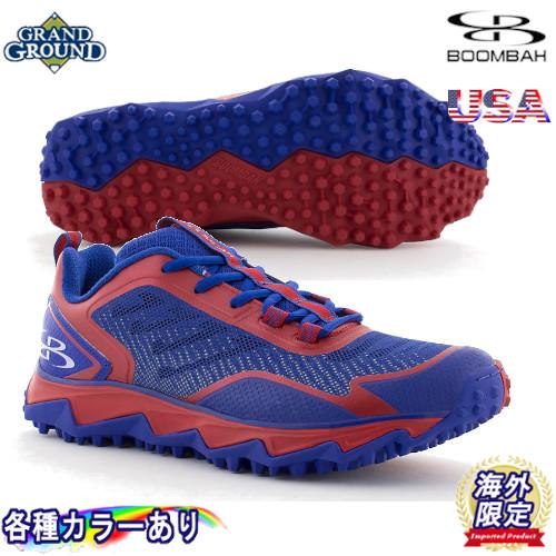 【海外限定】【送料無料】ブーンバー バーザーク ローカット 野球 トレーニングシューズ トレシュー アップシューズ グランドシューズ Boombah Mens Berzerk Turf Shoe Low