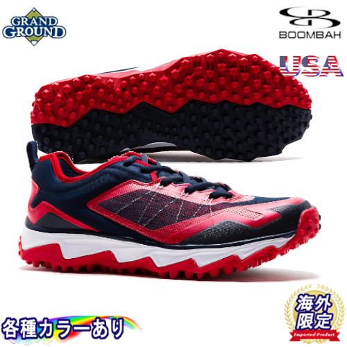 【海外限定】【送料無料】ブーンバー ヴェノム ローカット 野球 トレーニングシューズ トレシュー アップシューズ グランドシューズ Boombah Mens Venom Turf Shoe Low