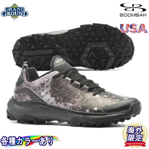 【海外限定】【送料無料】ブーンバー カタリスト ブラック OPS 2.0 ローカット 野球 トレーニングシューズ アップシューズ トレシュー Boombah Men's Catalyst Black OPS 2.0 Low Turf Shoes グランドシューズ キッズ ジュニア 大人用 メンズ 幅広いサイズ展開