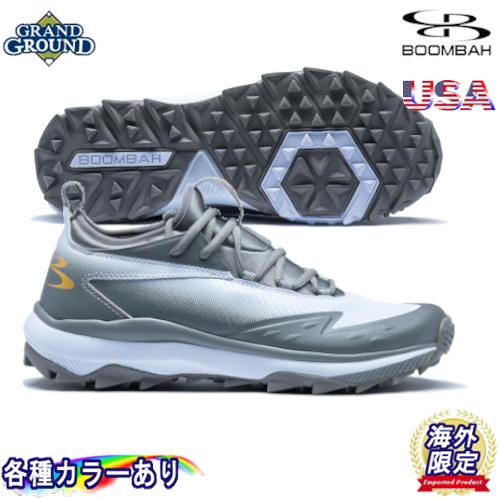 【海外限定】【送料無料】ブーンバー コマンダー ローカット 野球 トレーニングシューズ トレシュー アップシューズ Boombah Men's Commander Low Turf Shoes グランドシューズ キッズ ジュニア 大人用 メンズ 幅広いサイズ展開