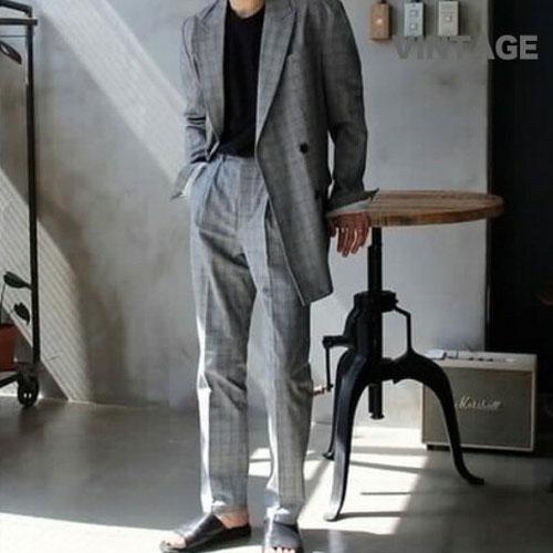 セットアップ メンズ スーツ ストレッチ ビジネス カジュアル ビジカジ ポケッタブル おしゃれ 春 夏 春夏 2018