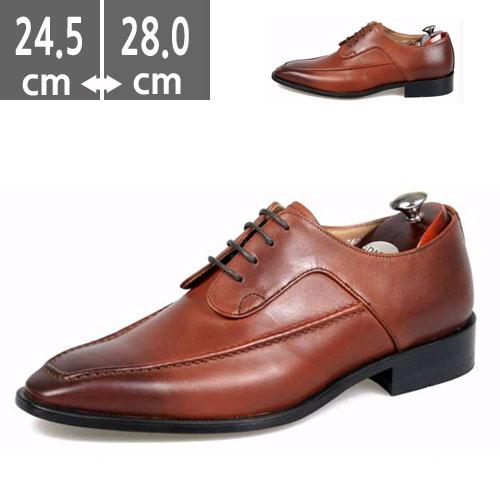 ハンドメイド ヒール メンズ3.0cm Uチップ(ユーチップ) シューズ 革靴 本革 メンズ ビジネス メンズ ビジネスシューズ レイスアップMen's 靴  本革靴 人気のメンズ ハイヒール3.0cm