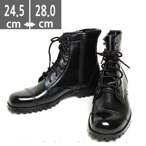 メンズ ブーツ 本革レザー Army Military Combat Boots レザー 牛革,ミリタリーブーツ ミリタリー ウォーカー ブラック, サバイバルゲーム ミリタリーブーツ タクティカルブーツ