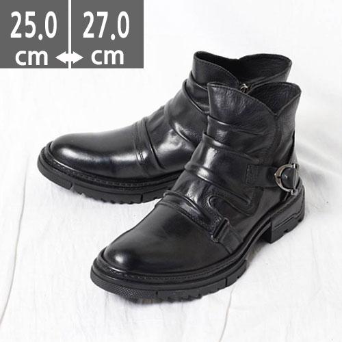 プレミアムエンジニアブーツ 本革 ブーツ ブラック ウエスタン ブーツ、ヒール4.0cm、メンズ ハイヒール、4.0cmヒール ブーツメンズ、ウエスタン ブーツメンズ、ウエスタンブーツ、ヒールブーツ メンズ